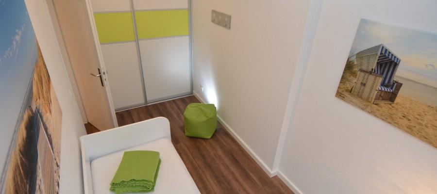 2. Schlafzimmer / Kinderzimmer | APPARTEMENT MIRAMARE