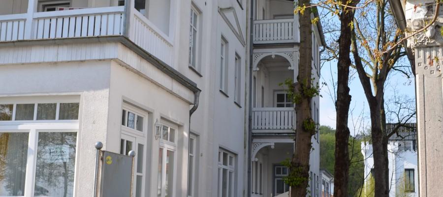 Appartements Miramare in der Villa Strandblick, Außenansicht