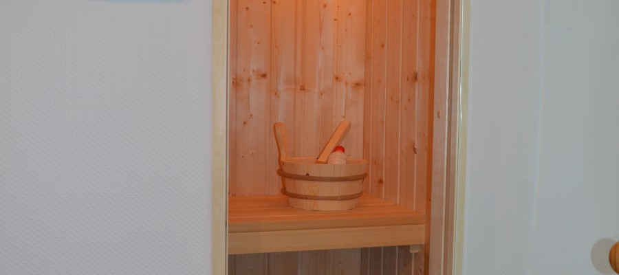 Sauna des Appartements Miramare