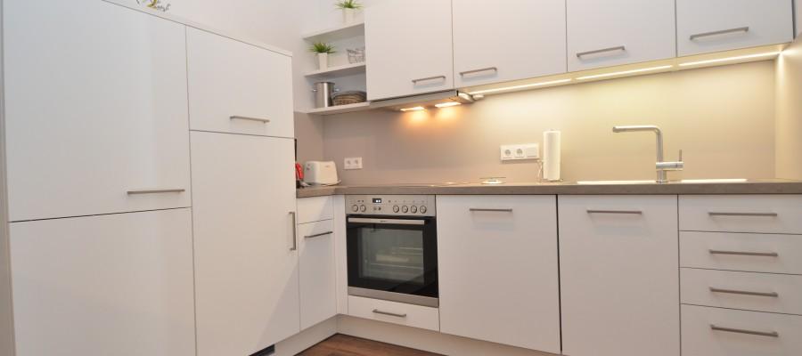 Küche des Appartements Miramare