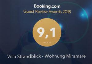 Miramare Binz VSB_Booking-Award-2018